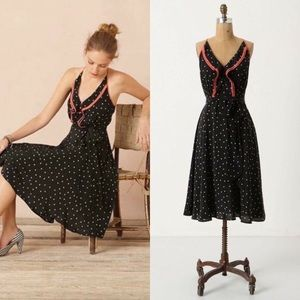 Anthropologie Girls From Savoy Gullwing Dress